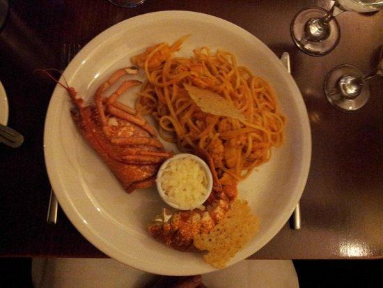 The Old Quarter Restaurant: Lobster und Pasta