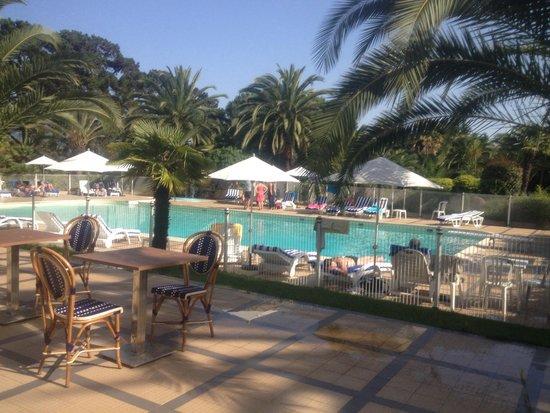 Campo Dell'Oro : Terrasse + piscine