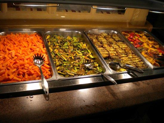 Hotel Des Alpes: Veg. buffet