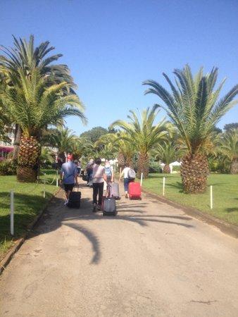 Campo Dell'Oro : Entrée de l'hôtel