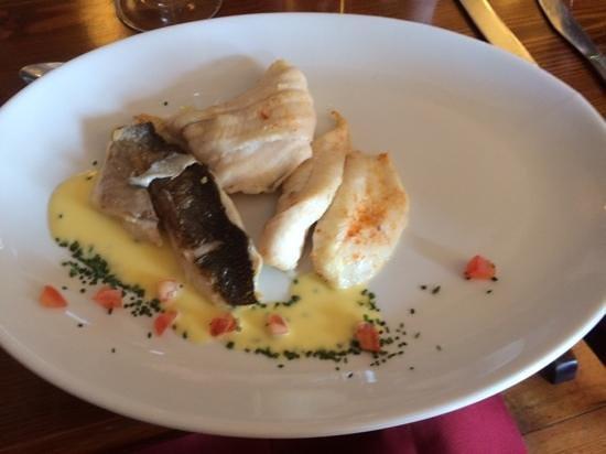 The Moorings Restaurant: Fisch-Dreierlei