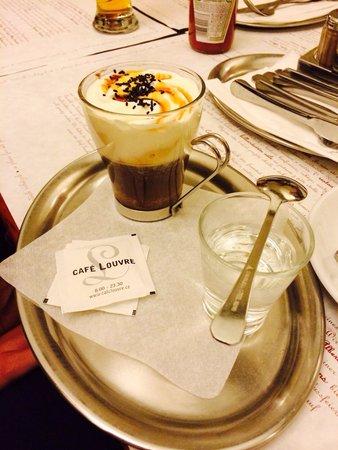 Cafe Louvre: Irish coffee
