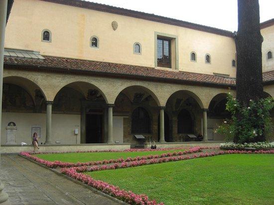 Museo di San Marco: Il chiostro del convento di S. Marco