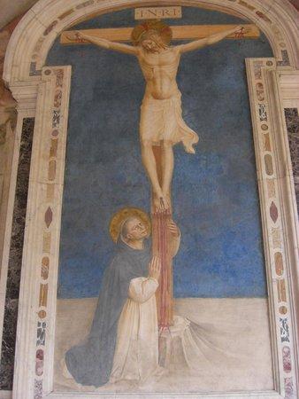 Museo di San Marco: Affresco del Beato Angelico nel chiostro