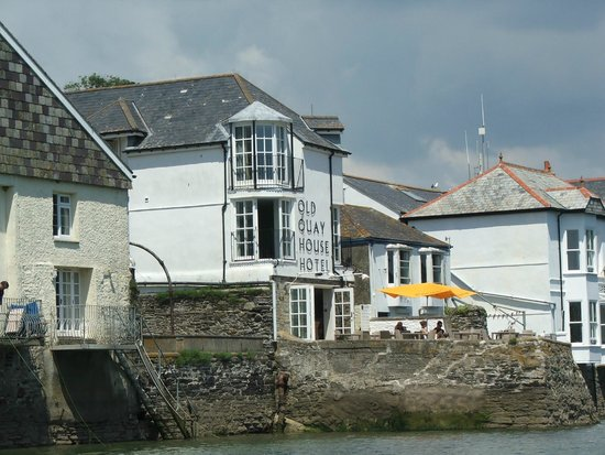 The Old Quay House Hotel : The View from the Water