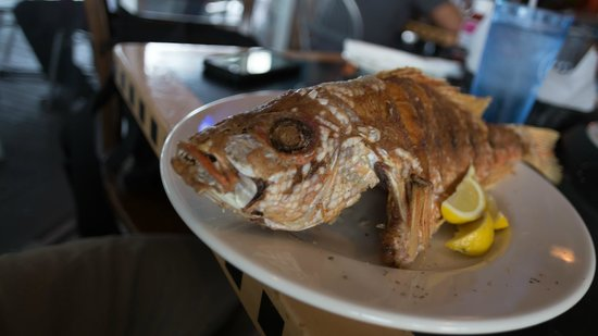 Catch of the Day : Full Fried Fish