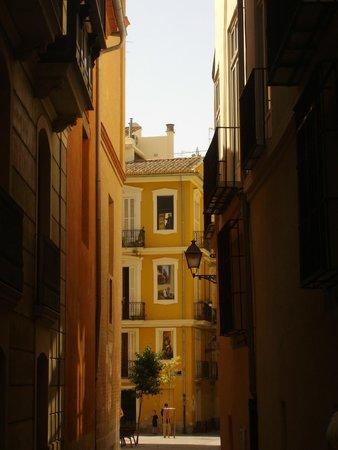 Barrio del Carmen : altra veduta