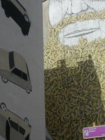 Barrio del Carmen : Murales