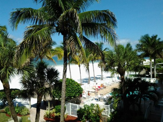 Best Western Plus Beach Resort: Vue du balcon