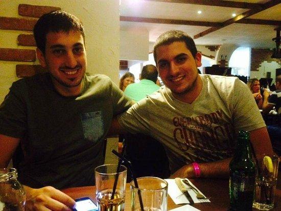 Pastory: In the restaurant