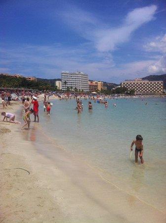 FERGUS Tobago: beach just 1 minute walk from hotel