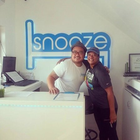 snooze : Coolest Clerk ever!
