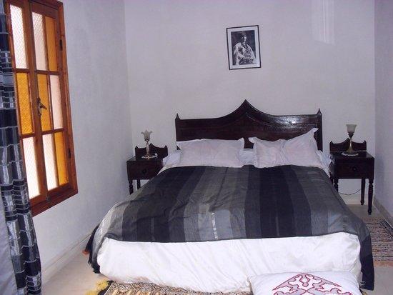 Riad Arambys: our room :-)