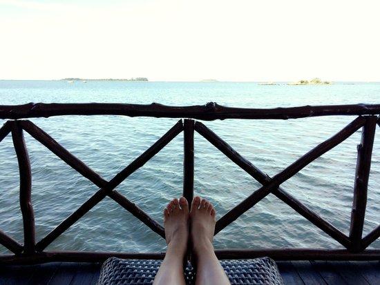 Bintan Spa Villa Beach Resort: balcony view