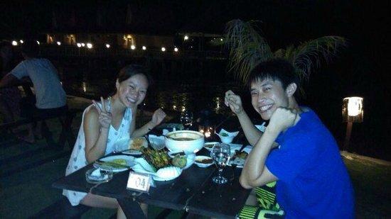 Bintan Spa Villa Beach Resort: bbq night