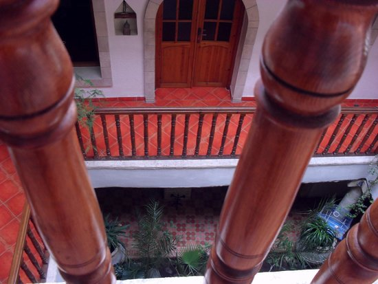 Riad Arambys: view from outside our room