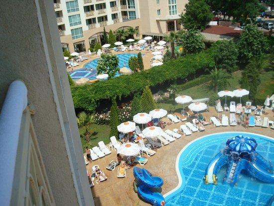 Alba Hotel: widok z pokoju