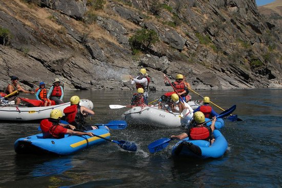 Hells Canyon Raft