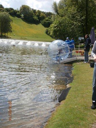 Olympiaturm: Olympic Park bubbles 2