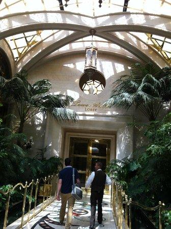 Wynn Las Vegas : tower suites entance