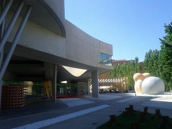 MAXXI - Museo Nazionale Delle Arti del XXI Secolo : in calcestruzzo, acciaio e vetro. foto cecilia polidori