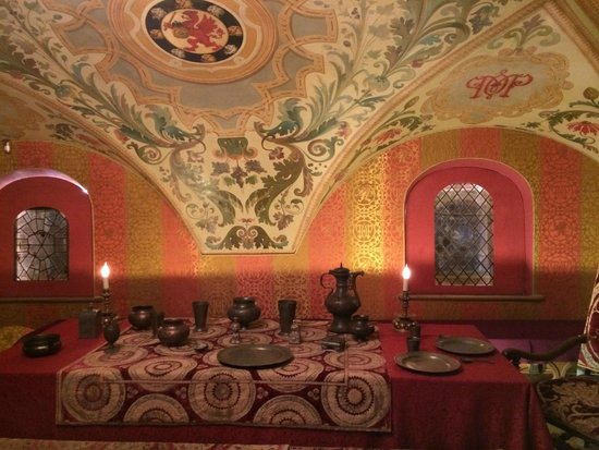 Chambers of The Romanov Boyars: Боярская столовая