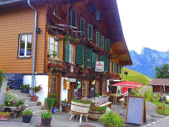 Boltigen - Eschihalten - vernacular facade