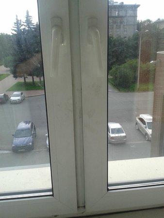 Rossiya Hotel: Окно