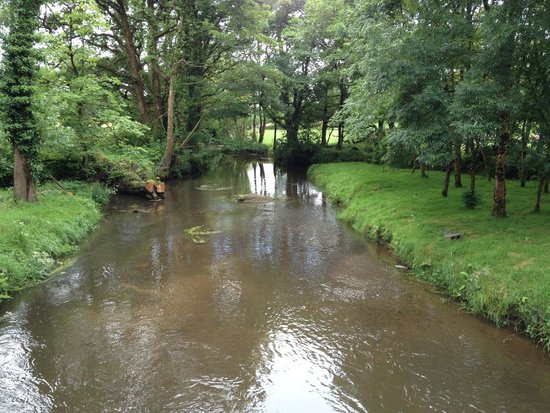 Mill Farm Cottages: stream