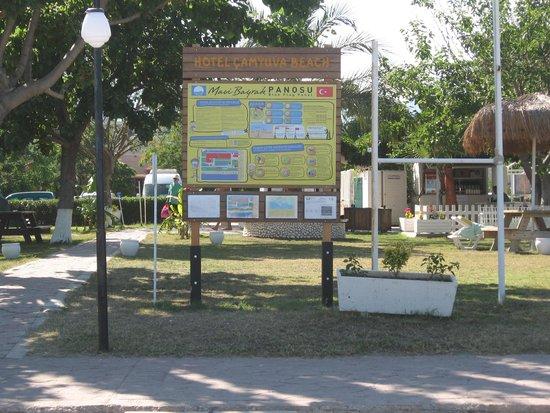 Camyuva Beach Hotel : La zona mare del Camyuva Beach