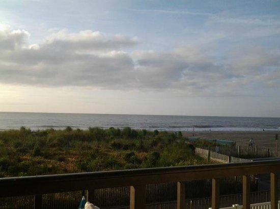 Dunes Court: mornings