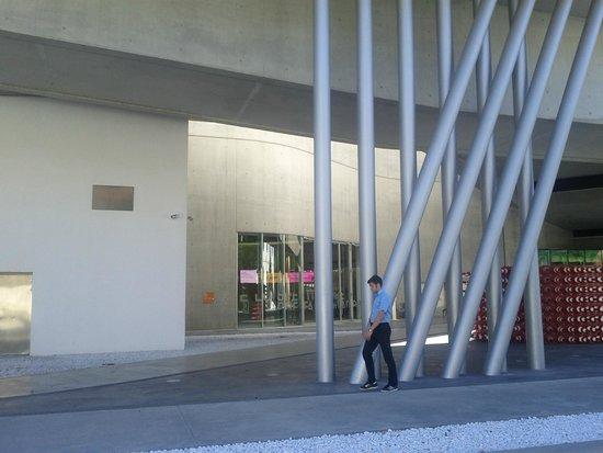 MAXXI - Museo Nazionale Delle Arti del XXI Secolo: in calcestruzzo, acciaio e vetro. foto cecilia polidori