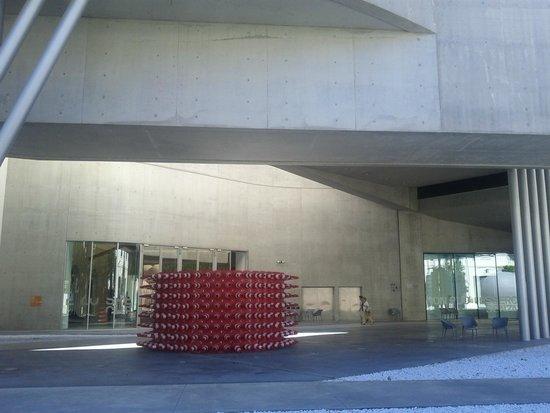 MAXXI - Museo Nazionale Delle Arti del XXI Secolo: disinvolta la risoluzione esterna.foto cecilia polidori