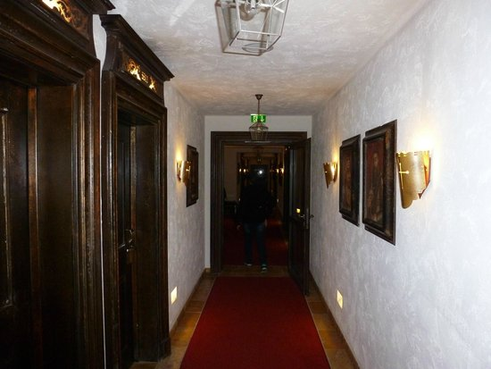 "Hotel ""Santa Isabel"" Europa-Park: couloir accès chambres"