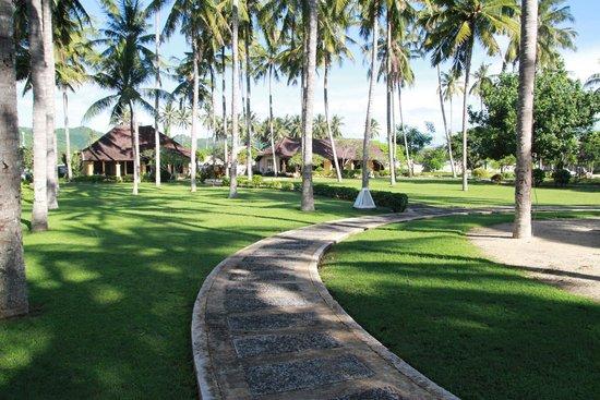 Tastura Beach Resort : Nice and huge gardens