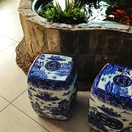 Day's Oriental Buffet : Day's salt & pepper shakers?