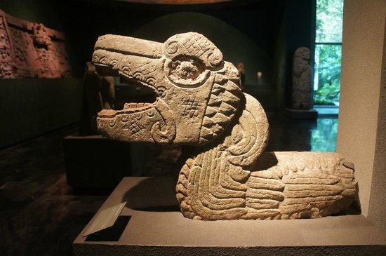 Museo Nacional de Antropología: Serpente