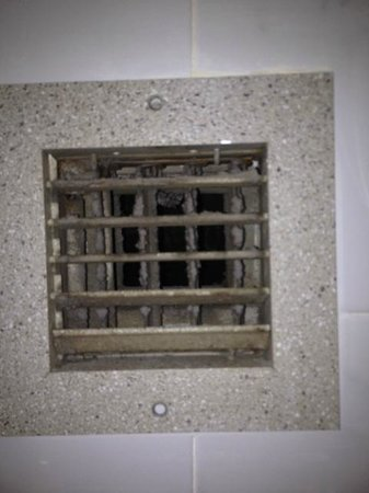 Quality Inn Central Denver: the air vents were in disgusting shape