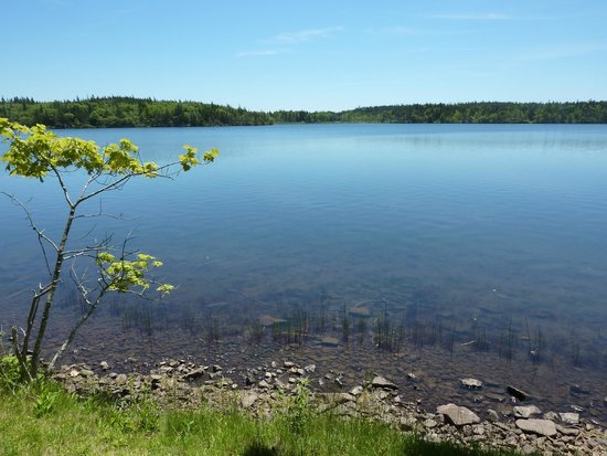 Digby, كندا: Lake Midway view