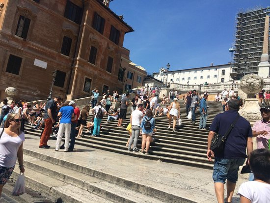 Spanische Treppe (Piazza di Spagna): spanish steps
