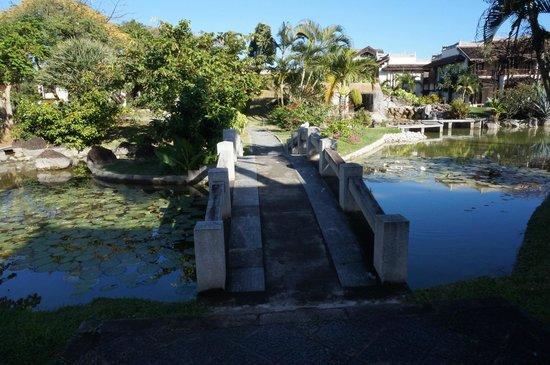 Sofitel Mauritius L'Imperial Resort & Spa : Garten