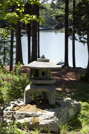 Coastal Maine Botanical Gardens: View of the Back River from Vayo Meditation Garden