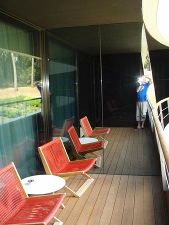 Hotel Lone : balcony on the room