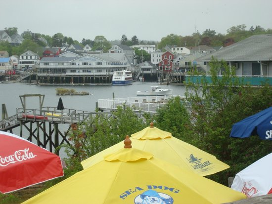 View from The Lobster Dock