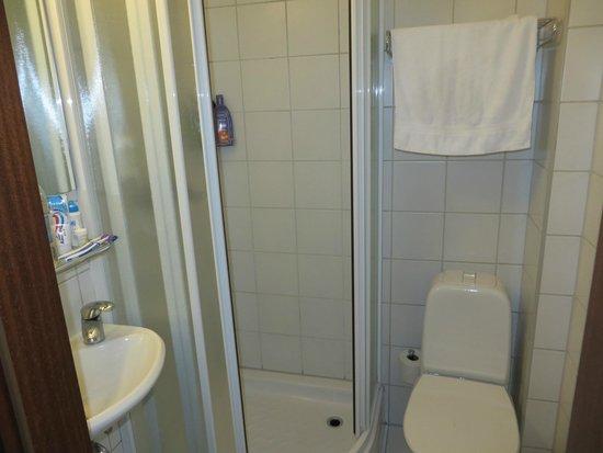 Hotel Cabin : Badkamer