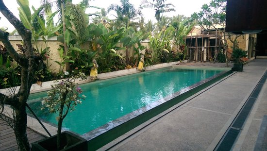 Anini Raka Resort & Spa: Smaller pool out from doors of 2nd block lower floor.