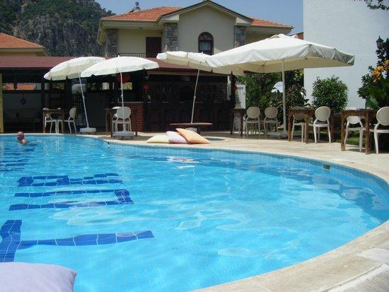 Dalyan Doga Hotel : Pool area