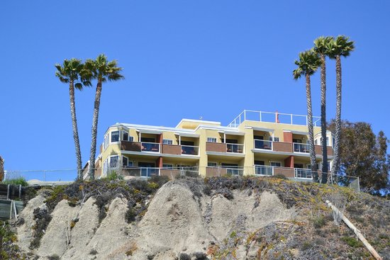 SeaCrest OceanFront Hotel: View at the hotel from the Beach
