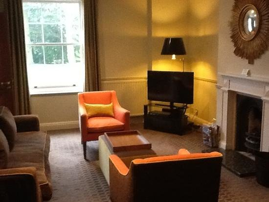 Rudding Park Hotel: The lounge in our suite.