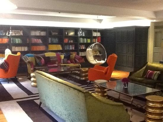 Rudding Park Hotel: Hotel library